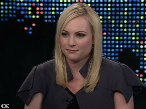 Meghan McCain said she was surprised, and now pleased, by her father's pick of Sarah Palin as running mate.