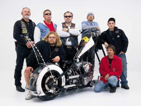 Orange County Choppers POW MIA Tribute Bike